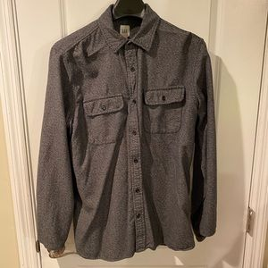 Gap button down shirt casual size large